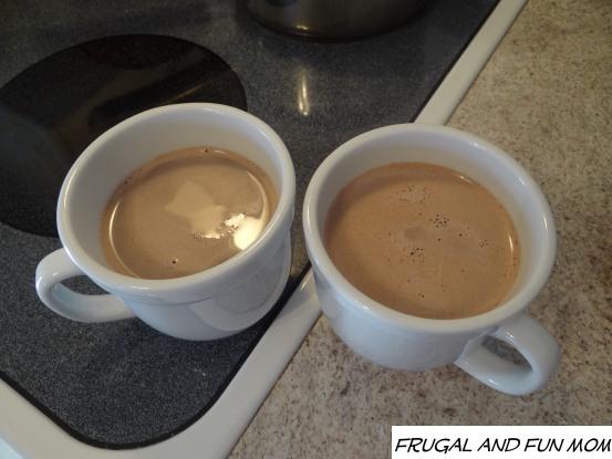 Sharing Ghirardelli Hot Cocoa
