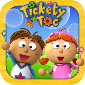 Tickety Toc Bubble Time App