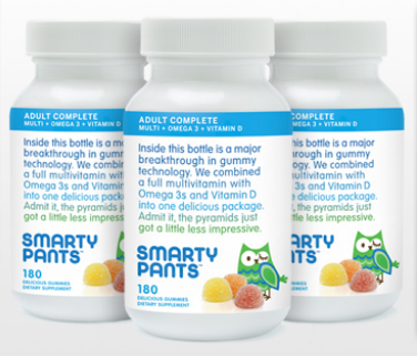 Review and Giveaway of Smarty Pants Adult Vitamin Gummies!  Contains Organic and Eco-Friendly Ingredients!