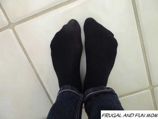 Kushyfoot Microfiber Crew Socks