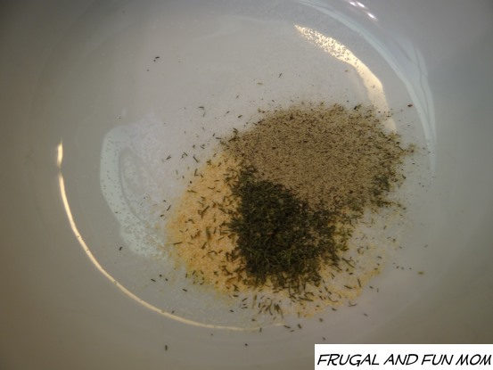 Spices for Pork Tenderloin with Dill Grapeseed Oil rub