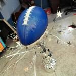 EASY DIY Football Party Centerpiece! A Dollar Store Craft!