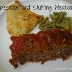 Applesauce and Stuffing Meatloaf Recipe! 5 Ingredients and Easy To Make!
