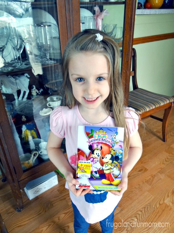 Mickey Mouse Clubhouse Minnierella DVD Disney