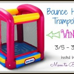 Little Tikes Bounce House Trampoline Giveaway Event! A $119.99 Value and Ends March 19th!