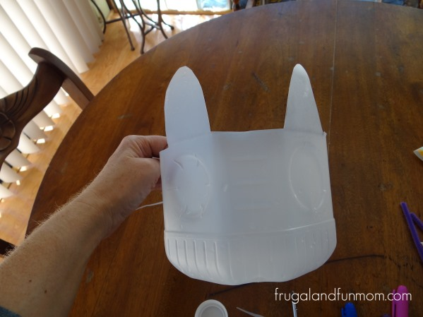 Milk Jug Easter Bunny Craft!