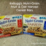Kellogg's Nutri-Grain Fruit & Oat Harvest Cereal Bars! #NGHarvest #MC Breakfast For On The Go!