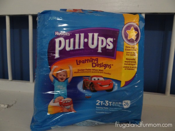 Pull-Ups Packaging for Boy