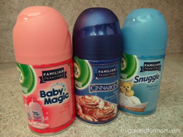 Air Wick S Familiar Favorites Collection With Baby Magic