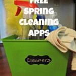 5 FREE Apps To Help With Spring Cleaning!
