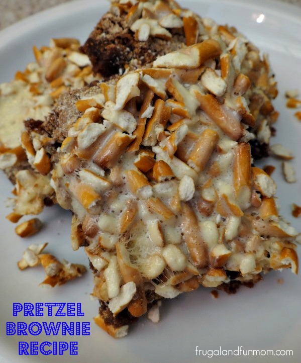 Pretzel Brownie Recipe
