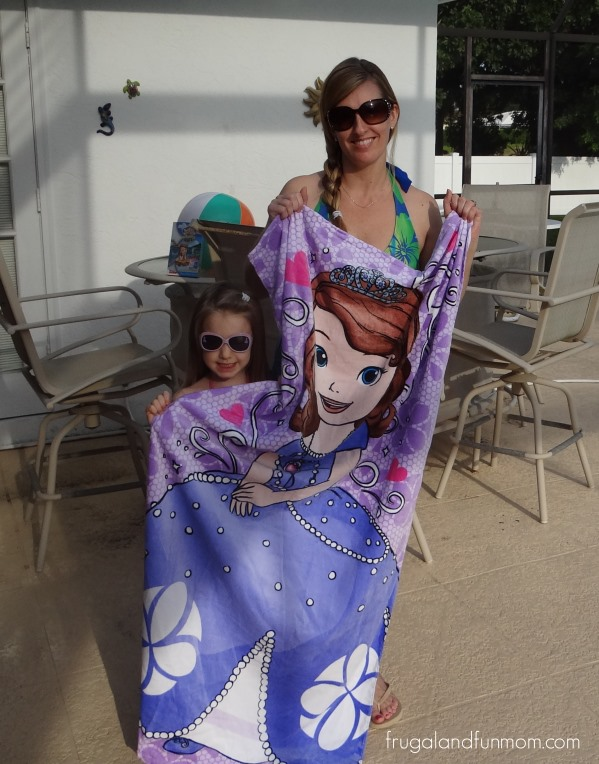 "Sofia The First ""The Floating Palace"" DVD and Pool Time"