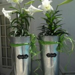 Turning Garage Sale Find Galvanized Buckets Into Spring Decorations! Flower Arrangement DIY Craft!