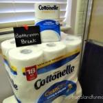 Take A Bathroom Break #LetsTalkBums! Plus $1.50 off Coupon for Cottonelle Flushable Cleansing Cloths & Bath Tissue!