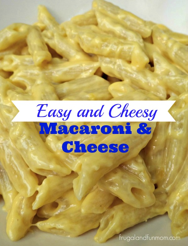 Easy cheese macaroni and cheese