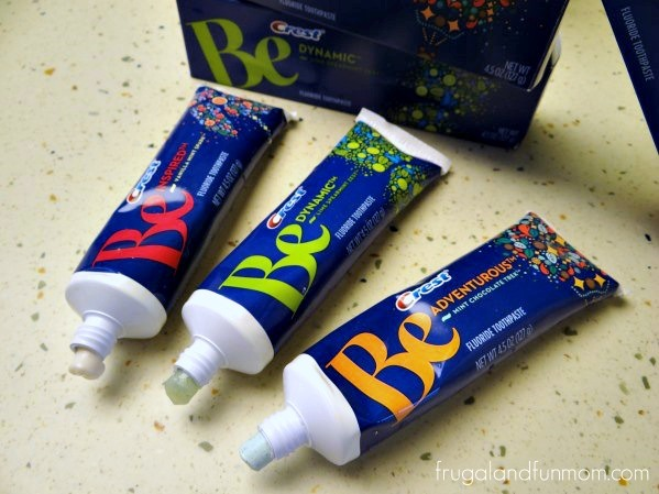 Crest Be Toothpaste Flavors