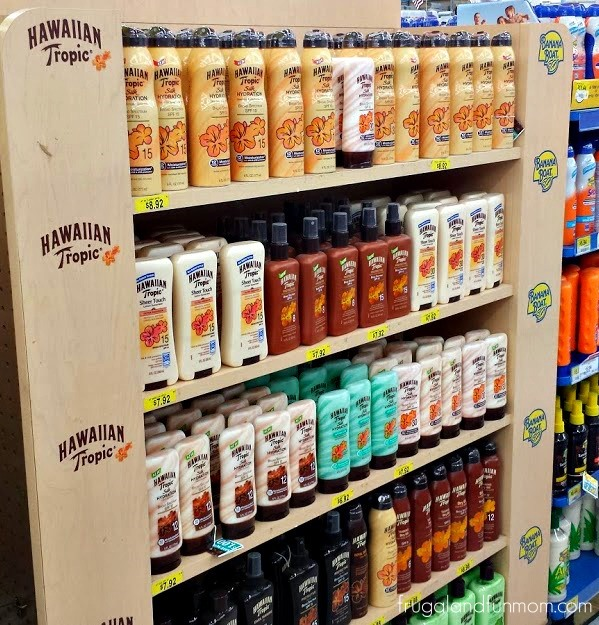 Hawaiian Tropic Sheer Touch Ultra Radiance SPF 30 on Display at Walmart #SummerizeYourLegs #CollectiveBias