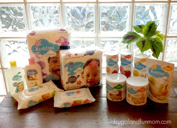 Varieties of Kuddles Baby Products at Winn Dixie