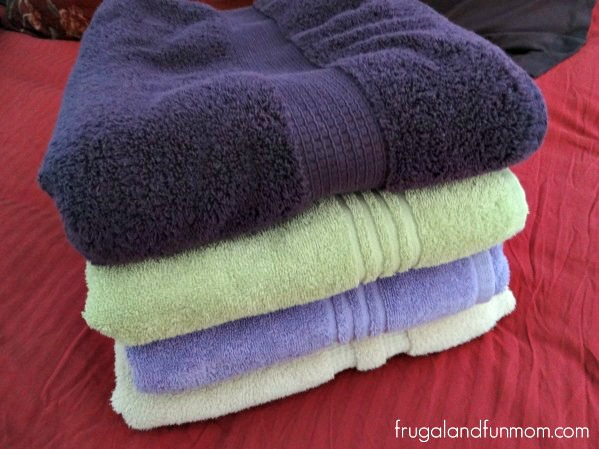 Towels washed in ology detergent Walgreens