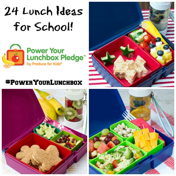 24 Lunch Ideas for School #PowerYourLunchbox