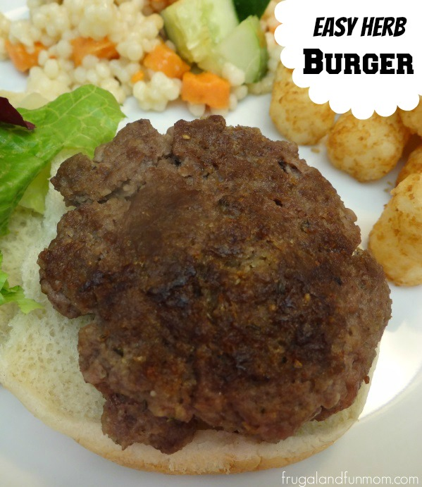Easy Herb Burger Recipe
