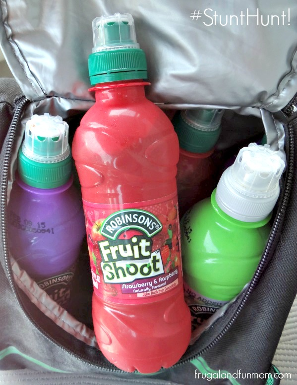 Fruit Shoot Products on the go