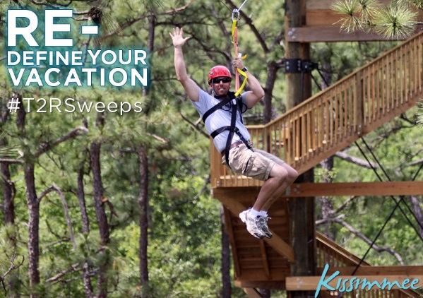 You Could Win a #Vacation for Four to Kissimmee! #T2RSweeps Tweet to Repeat Sweepstakes!