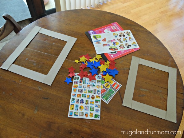 Superstar Frame Back To School #Craft #DIY