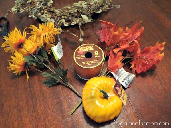 Fall Door Wreath Idea That Is No Glue 2