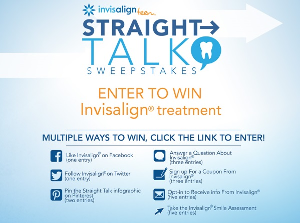 Invisalign Sweepstakes Straight Talk