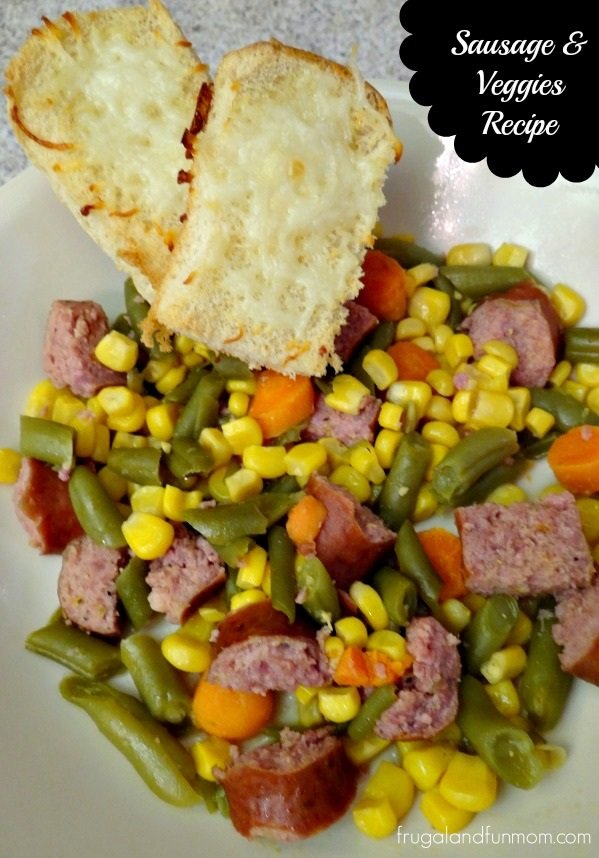 Sausage and Veggies Recipe! An Easy Weeknight Dinner!