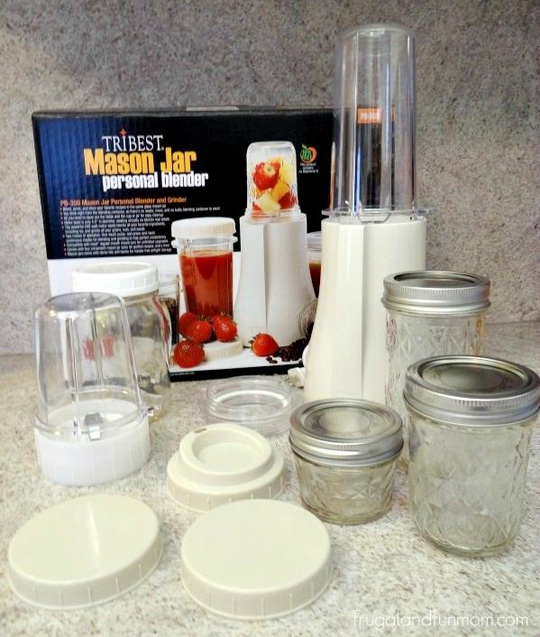 Tribest Mason Jar Personal Blender