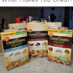 Question: What Makes You Great? Plus #Giveaway from Post Great Grains!