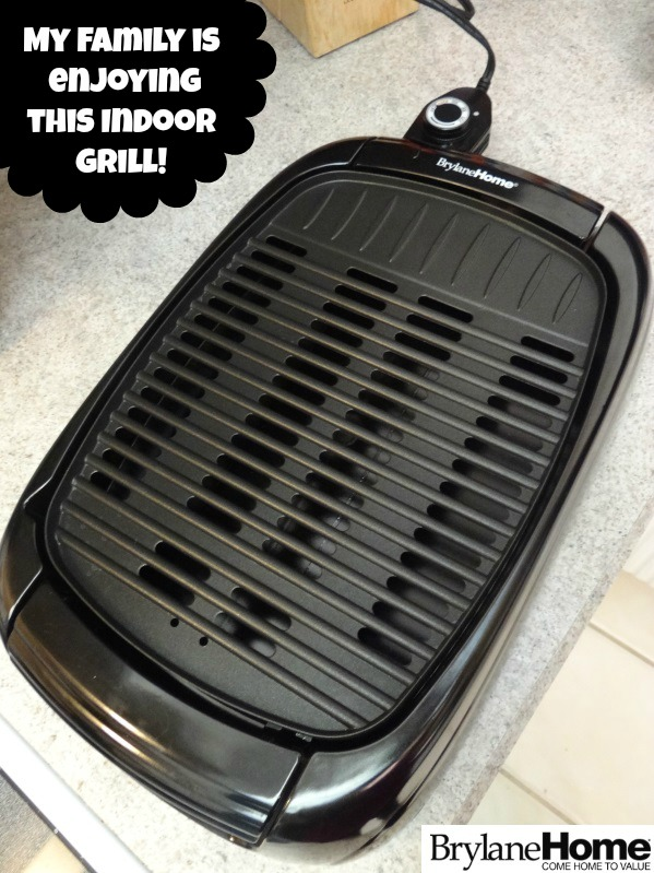 eview and Giveaway of the BrylaneHome Indoor Grill! My Family Is Enjoying It!