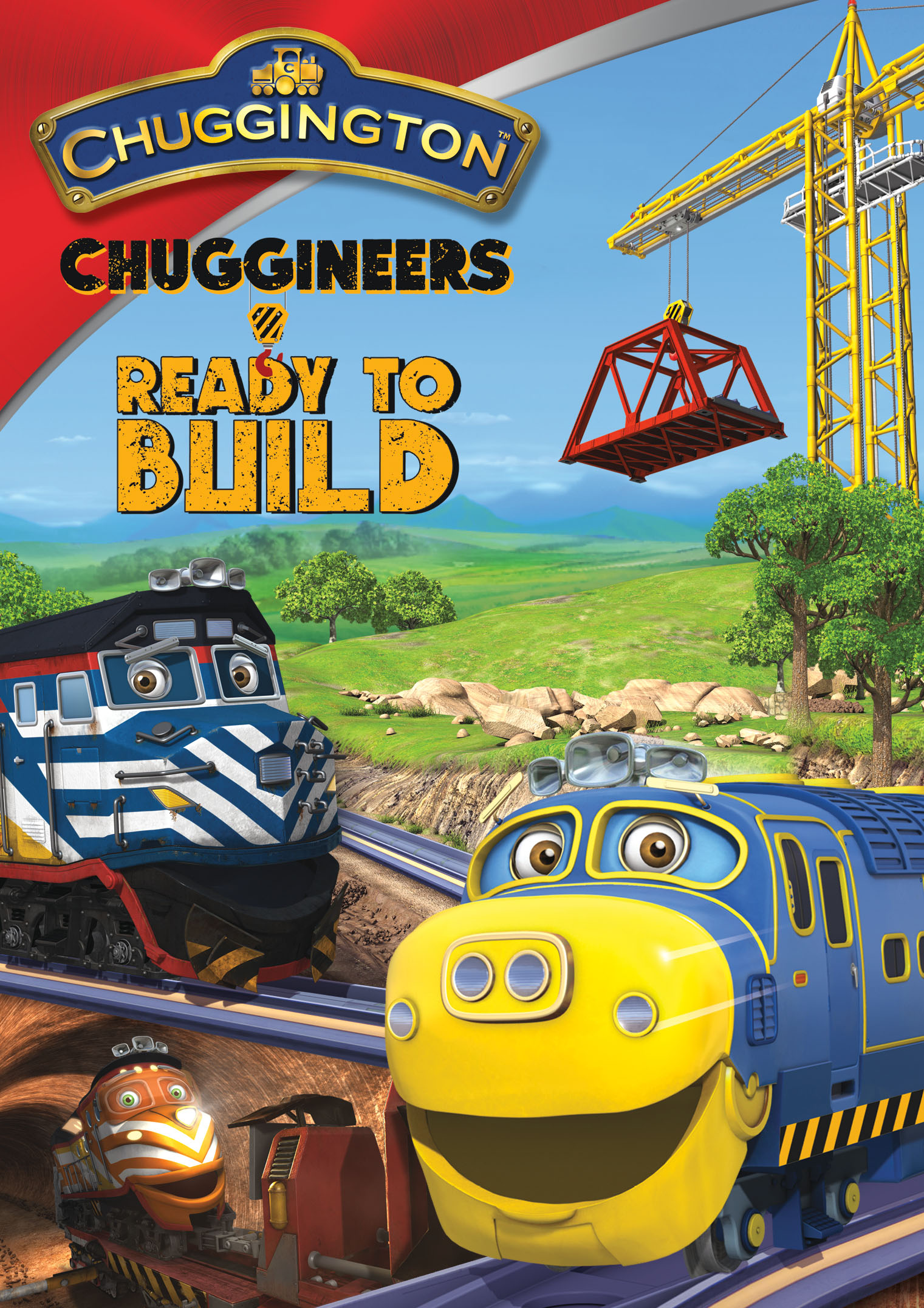 Chuggington Chuggineers Ready to Build DVD Teaches Responsibility! {#Giveaway}
