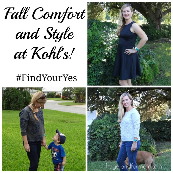 Comfortable Clothes for Moms at Kohl's