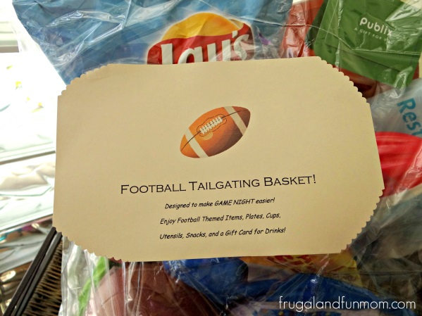 Football Tailgating Gift Basket
