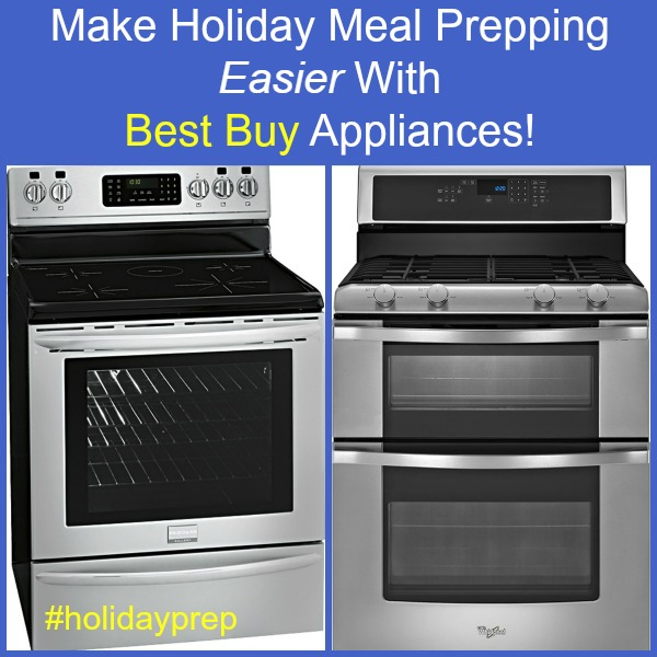 Holiday Meal Prep at Best Buy Ranges Whirlpool Frigidaire