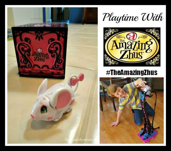 Playtime With The Amazing Zhus! Toys that Perform Magic and Stunts! #TheAmazingZhus