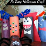 Tutorial – TP Roll Monsters!  An Easy Halloween Craft With Toilet Paper Cardboard Tubes!