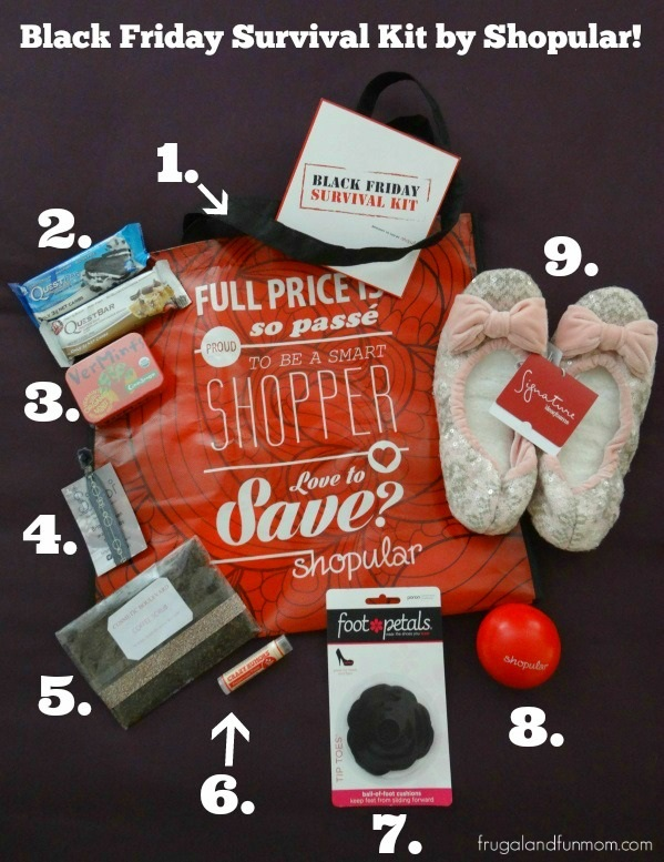 Black Friday Survival Kit from Shopular! #Shopular #BlackFridaySurvivalKit