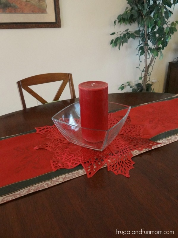 Holiday Table Items from Kohls