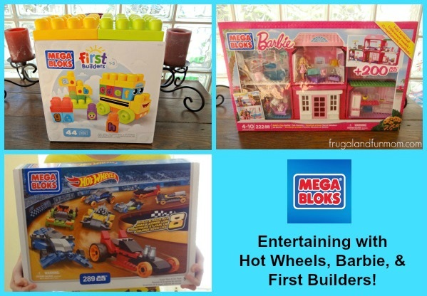 Mega Bloks To Entertain All 3 of My Kids