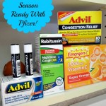 Organizing The Medicine Cabinet for Cold and Flu Season With Pfizer! #HealthySavings #Shop