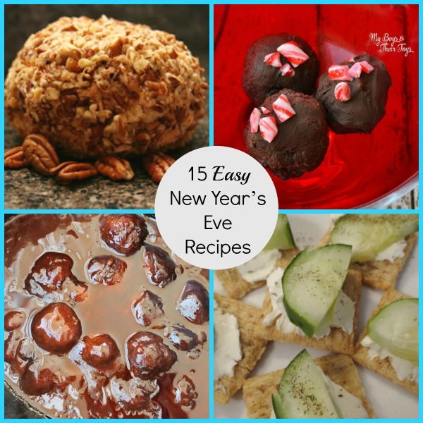 Easy New Years Food and Recipes