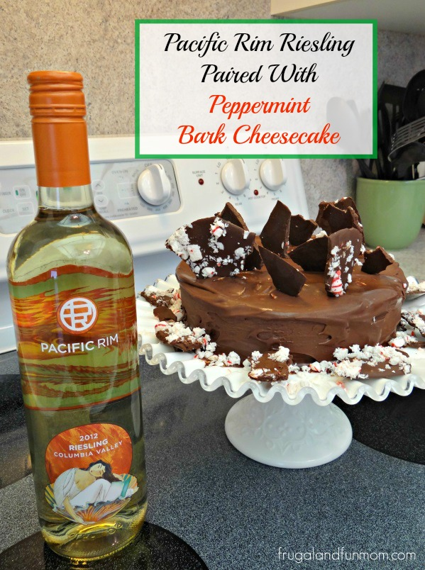 Peppermint Bark Cheesecake Recipe