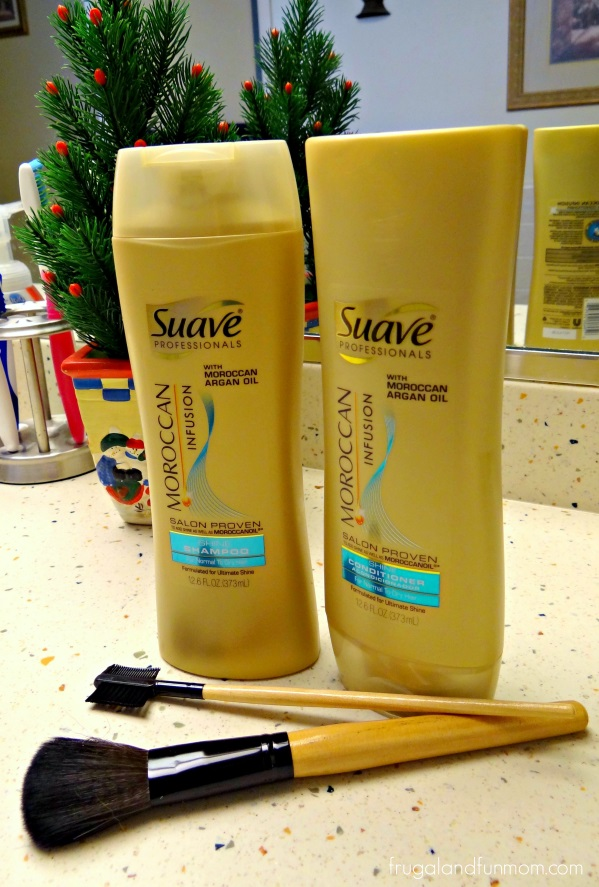 Suave Moroccan Infusion Shine Shampoo & Conditioner