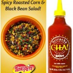Spicy Roasted Corn and Black Bean Salad! #TexasPete A Perfect Taco Night Side! #Ad