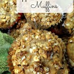 Apple Banana Crunch Muffins Recipe!
