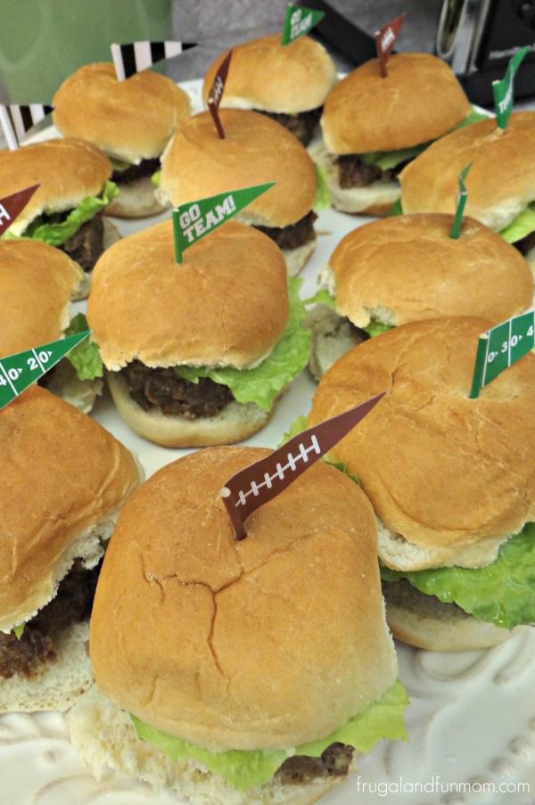 Blue Cheese Meatloaf Sliders